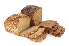 pains bruns deux de céréales de pain Images stock
