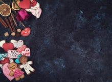 Pains d'épice pour l'amour ou le marrige Image stock