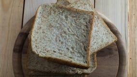 Pains de pain de blé entier Photos stock