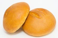 Pains de pain de blé Photos stock