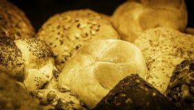 Pains de pain et des petits pains de pain Images stock