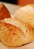 Pains de pain frais Images libres de droits