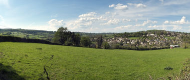 Painswick, Cotswolds travel destination, Gloucestershire, UK Royalty Free Stock Images