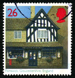 Painswick Post Office UK Postage Stamp Royalty Free Stock Image