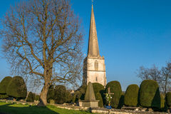 Painswick St Mary's at Easter Time. Royalty Free Stock Photos