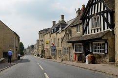 Painswick, ville de Cotswolds image libre de droits