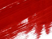 Paint 02. Red paint vector illustration