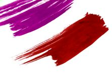Paint 04. Red paint Royalty Free Stock Photos