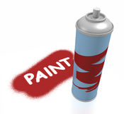 Paint #1 Royalty Free Stock Photography