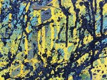 Paint. Splashes on  Bangkok wall Stock Images