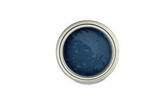 Paint. Can ready to be used on white background royalty free stock images
