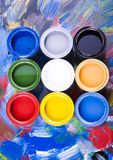 Paint. Let your world be colourful Royalty Free Stock Images