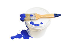 The paint Royalty Free Stock Image