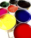 Paint. Bucklet - offset Stock Images