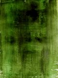 Paint. Grungy painted  dark green background Stock Images