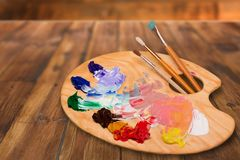 Paint artist Royalty Free Stock Images