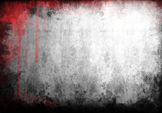 Paint background. Red paint color on grunge background Stock Photography