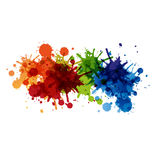 Paint background design Royalty Free Stock Image