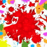 Paint Background Represents Colorful Splat And Color Royalty Free Stock Photo