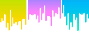 Paint banner Stock Photography