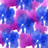 Paint blue, pink splash ink blot and white abstract art brushes. Isolated Vector Illustration