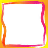 Paint border frame Royalty Free Stock Images