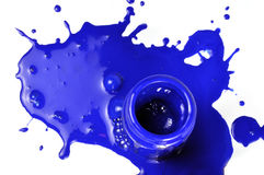 Paint bottle Stock Photos
