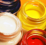 Paint Bottles Royalty Free Stock Image