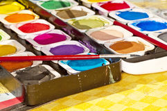 Paint box Royalty Free Stock Image