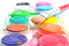Paint Box Stock Photos
