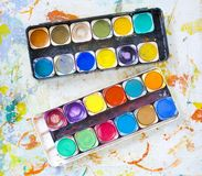 Paint box Stock Photography