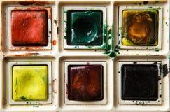 Paint box Stock Photo