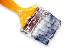 Paint brush. On white background Stock Photos