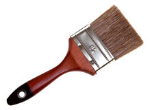 Paint Brush. Isolated on white background Stock Image