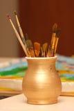 Paint-brush Stock Photos