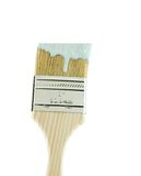 Paint Brush. With paint on it isolated on white Royalty Free Stock Photos