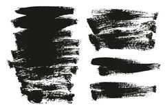 Paint Brush Background High Detail Abstract Vector Background Set 145. This image is a vector illustration and can be scaled to any size without loss of royalty free illustration
