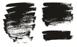 Paint Brush Background High Detail Abstract Vector Background Set 141. This image is a vector illustration and can be scaled to any size without loss of royalty free illustration