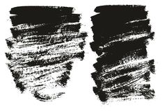 Paint Brush Background High Detail Abstract Vector Background Set 100. This image is a vector illustration and can be scaled to any size without loss of royalty free illustration