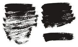 Paint Brush Background High Detail Abstract Vector Background Set 142. This image is a vector illustration and can be scaled to any size without loss of royalty free illustration