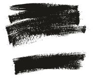 Paint Brush Background High Detail Abstract Vector Background Set 06. This image is a vector illustration and can be scaled to any size without loss of royalty free illustration