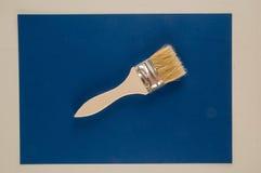 Paint brush background Stock Photo