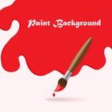 Paint brush background Royalty Free Stock Photos
