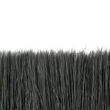 Paint brush bristle over isolated white background Stock Photo
