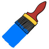 Paint brush cartoon Royalty Free Stock Image
