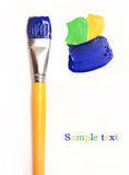 Paint brush isolated Royalty Free Stock Images
