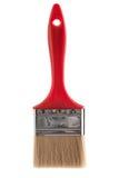 Paint brush isolated on white background. New red paint brush isolated on a white background Royalty Free Stock Photography