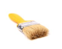 Paint brush isolated on a white background Royalty Free Stock Photo