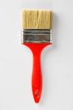 Paint brush isolated on white Stock Photos