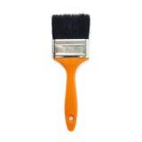 Paint brush over isolated white background Stock Photo